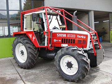 Lackierung von Traktoren und Maschinen