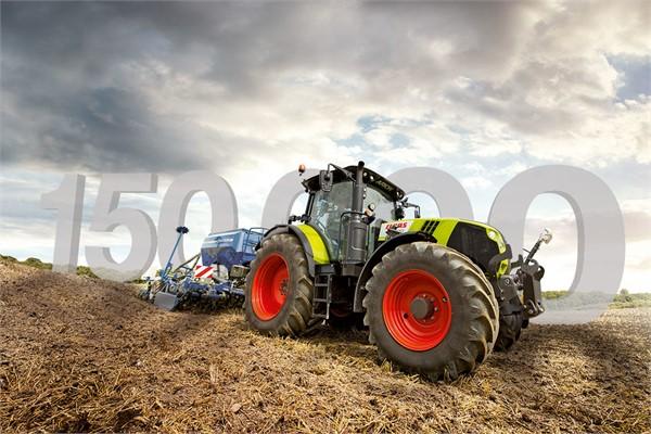 150.000 Traktoren von CLAAS – 150.000 gute Gründe